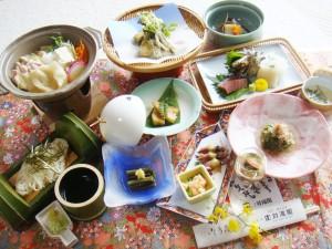 山菜御膳プラン1
